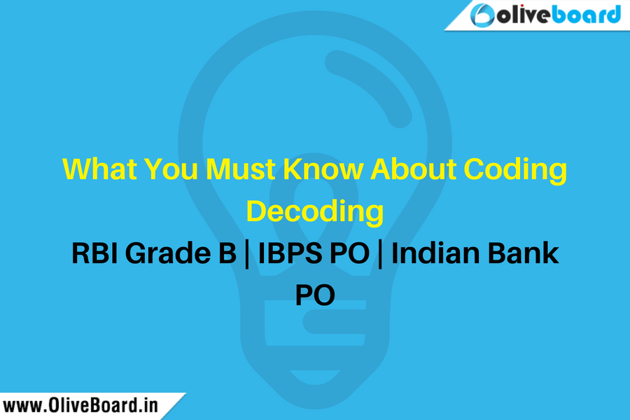 What You Must Know About Coding DecodingRBI Grade B _ IBPS PO _ Indian Bank PO