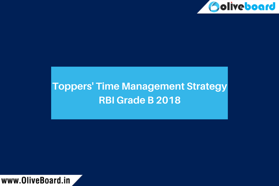Toppers' Time Management Strategy RBI Grade B SBI PO IBPS PO