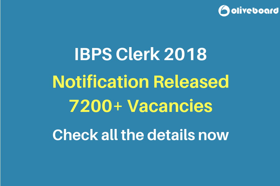 IBPS Clerk 2018 Notification 1