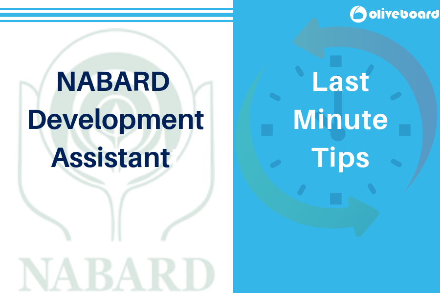 Last Minute Tips for NABARD Development Assistant