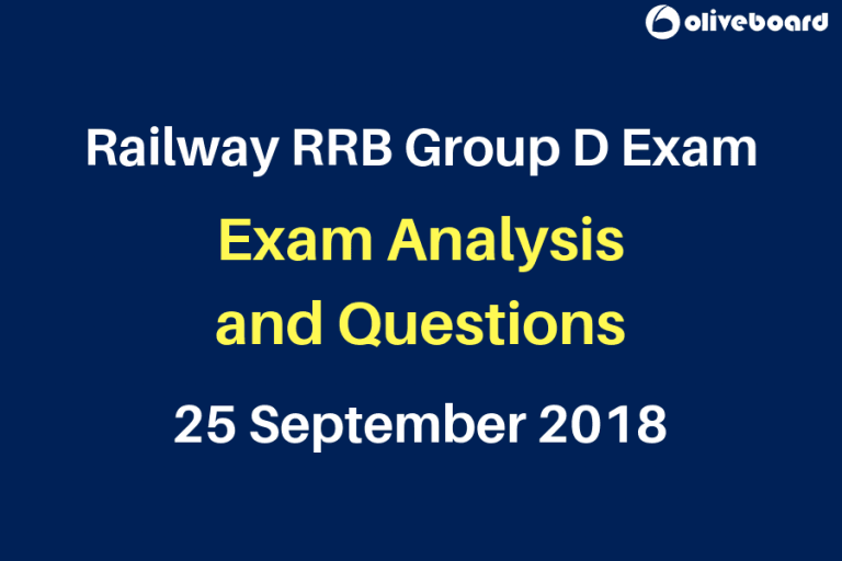 Railway Group D 2018 Exam Questions 25 sep