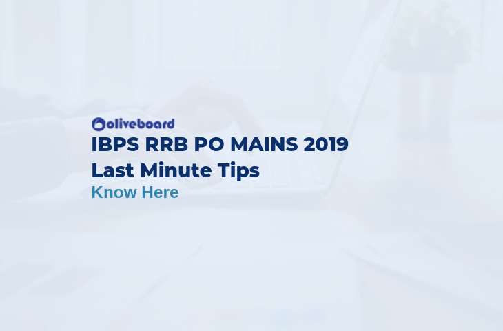 IBPS RRB PO Mains Last Minute Tips