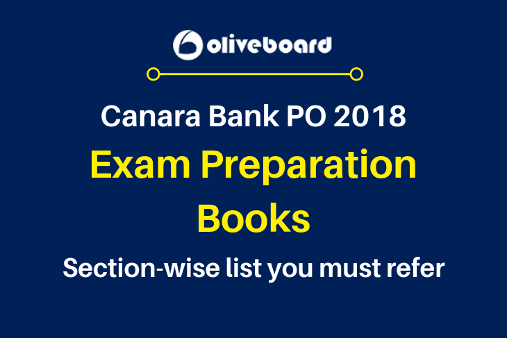 Canara Bank PO Exam Books 2018