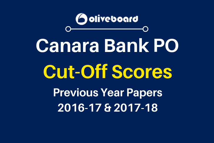 Canara Bank PO Cutoff