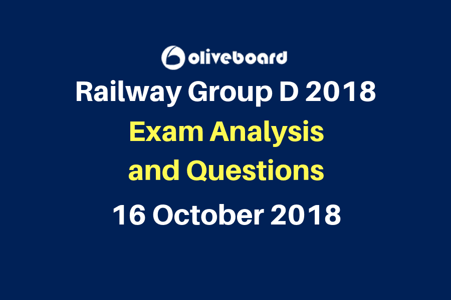 Railway Group D Exam Questions 16 oct