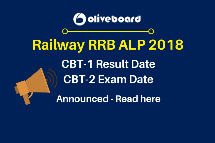 RRB ALP Exam Date Announced