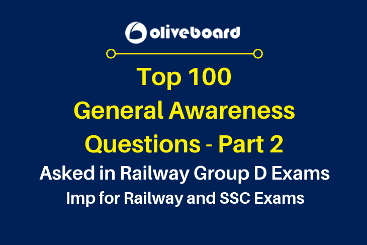 Railway RRB Group D Exams part 2 Questions