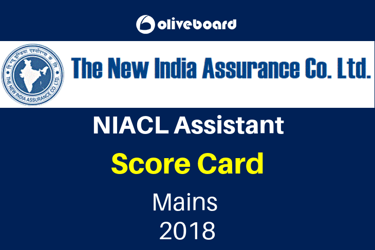 niacl mains score card