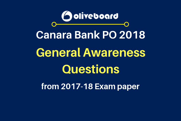 Canara Bank PO Exam Preparation