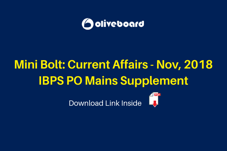 Mini Bolt Current Affairs