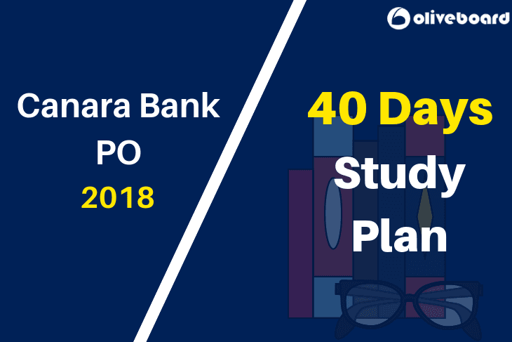 Canara Bank PO 40 Days Study Plan