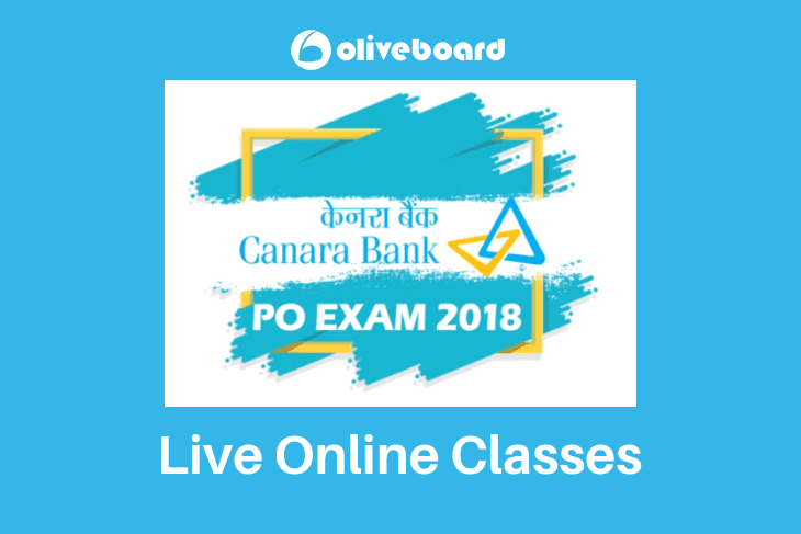Canara Bank PO Live Online Classes