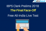 IBPS Clerk final face off Test