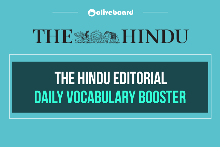 The Hindu Editorial Daily Vocabulary Booster 20 December 2018