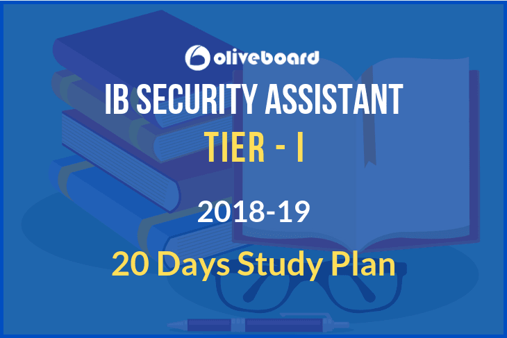 IB Security Assistant 20 Days Study Plan