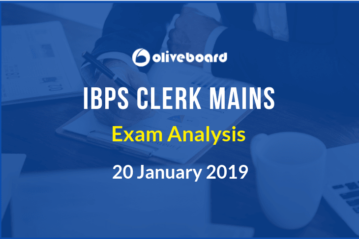 IBPS clerk 2018 mains exam analysis