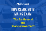 IBPS Clerk Mains Tips & Tricks General Awareness
