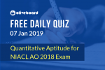 NIACL AO Online Quiz