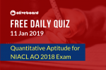 NIACL AO Online Quiz 4