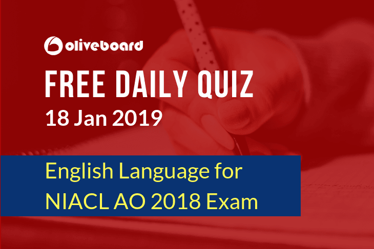 NIACL AO Online Quiz 5
