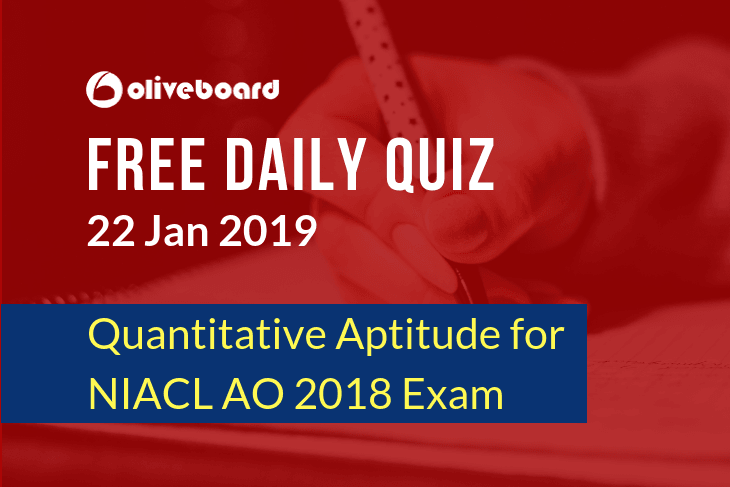 NIACL AO Online Quiz 6