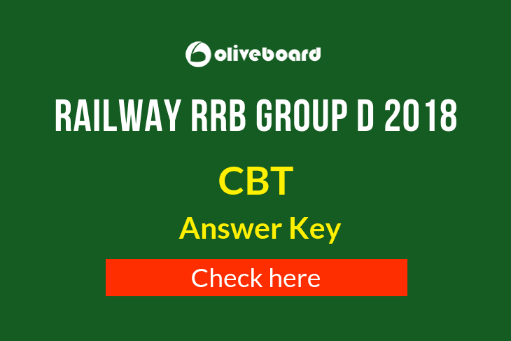 RRB Group D Answer Key 2018