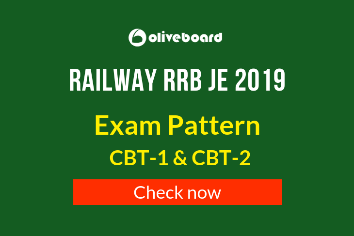 RRB JE Exam Pattern 2019