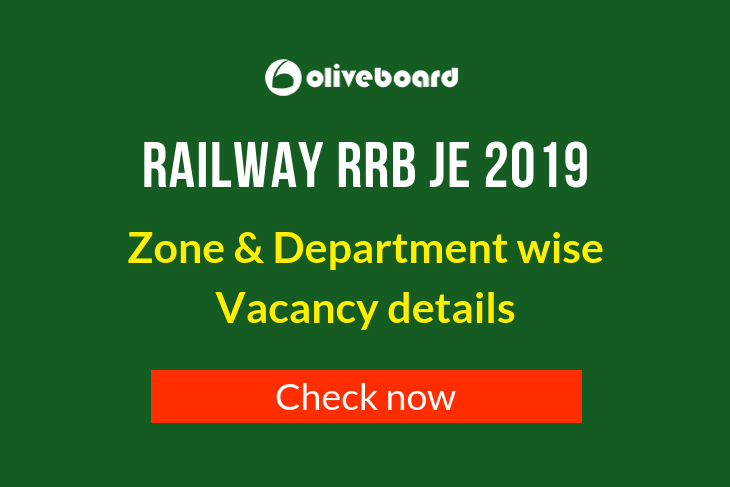 RRB JE Vacancy 2019