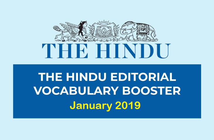 Vocabulary Booster January 2019