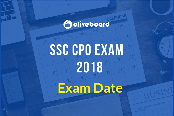 SSC CPO Exam Date