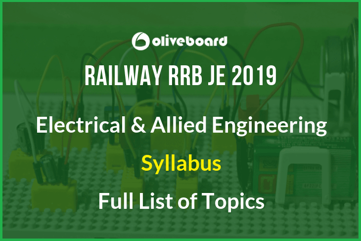 RRB JE Electrical Syllabus