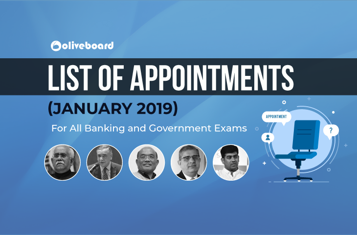 Appointments January 2019