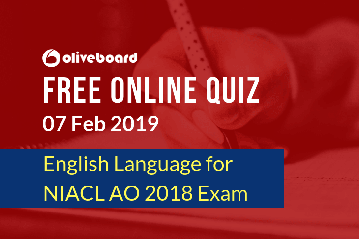 NIACL AO Online Quiz 7