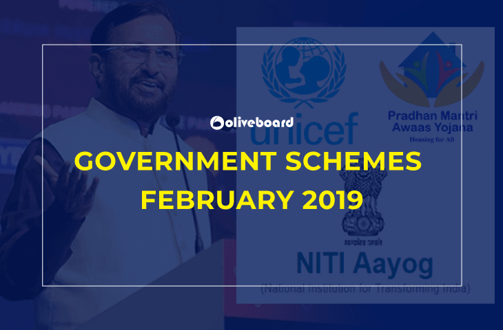 Government Schemes February 2019
