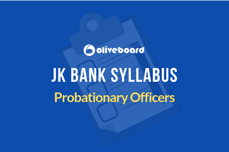 JK BANK PO Syllabus