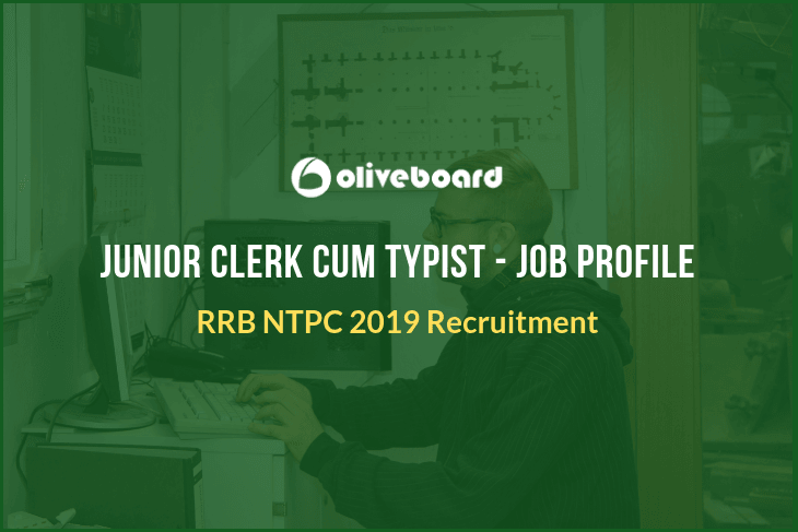 RRB NTPC JUNIOR CLERK JOB PROFILE