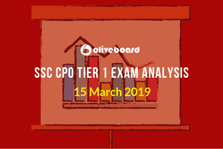 SSC CPO Tier 1 Exam Analysis 15 mar