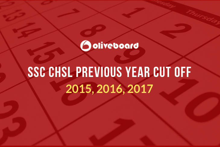 SSC CHSL Previous Year Cut Off
