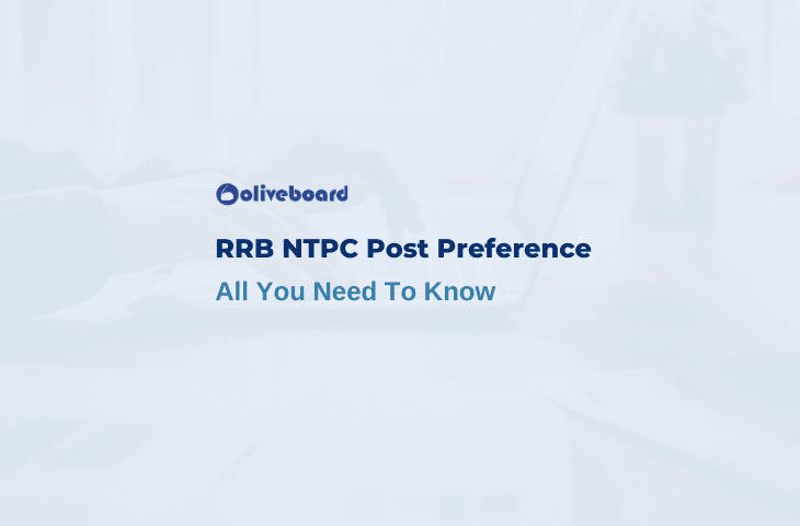 RRB NTPC Post Preference