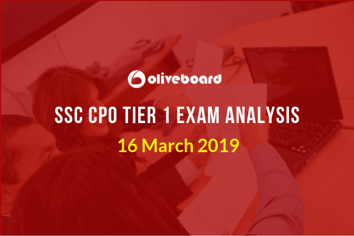 ssc cpo exam analysis tier 1