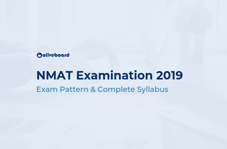 NMAT Exam 2019 - Complete Syllabus and Exam Pattern