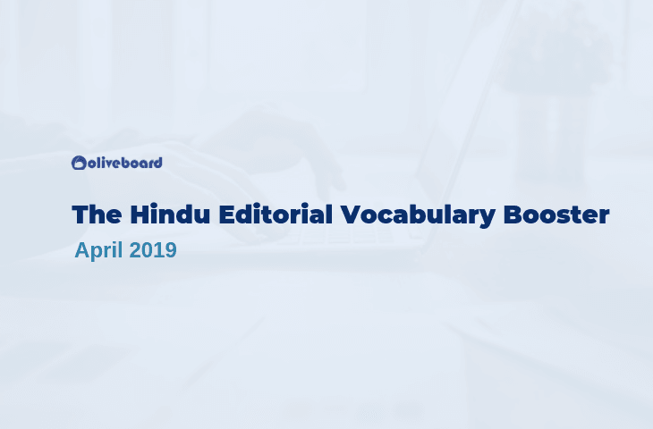 Vocabulary Booster April 2019