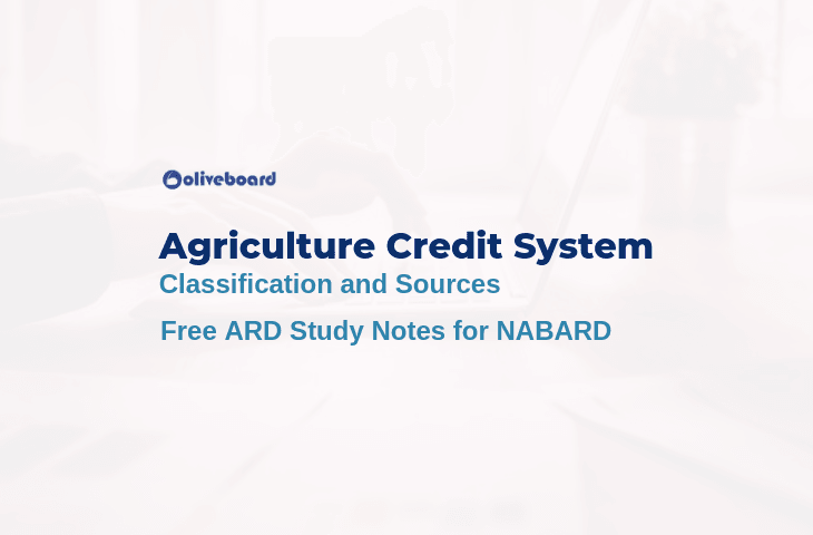 Agricultural Credit System