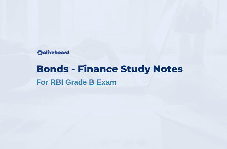 Bonds - RBI Grade B Study Notes