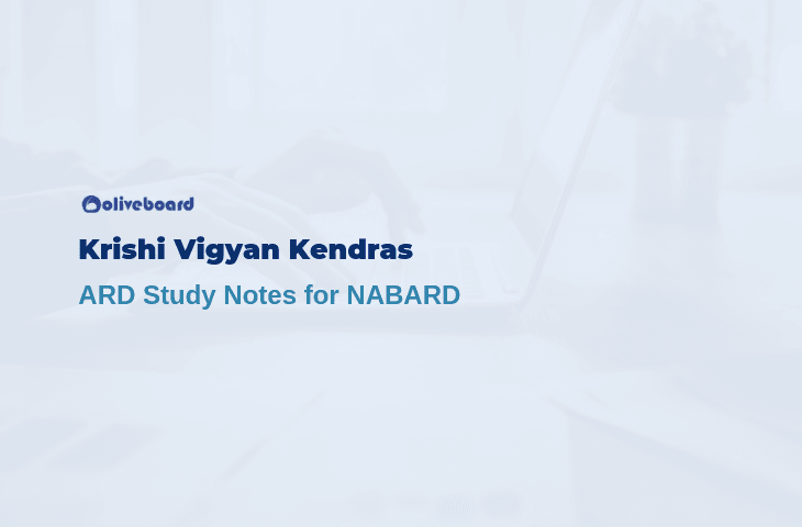 Krishi Vigyaan Kendras - NABARD Agriculture Notes