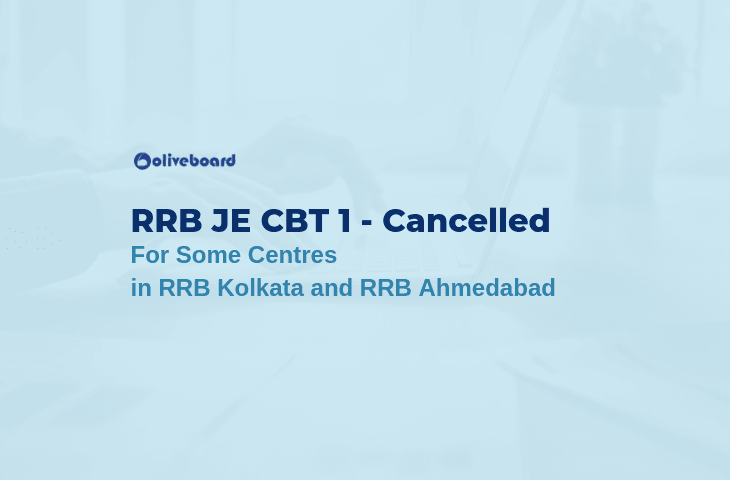 RRB JE 2019 CBT 1 cancelled