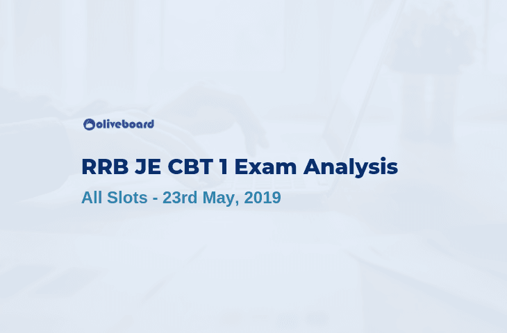 RRB JE 2019 Exam Analysis 23 may