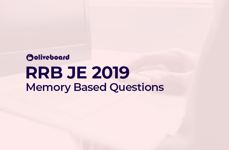 RRB JE Memory Based Questions