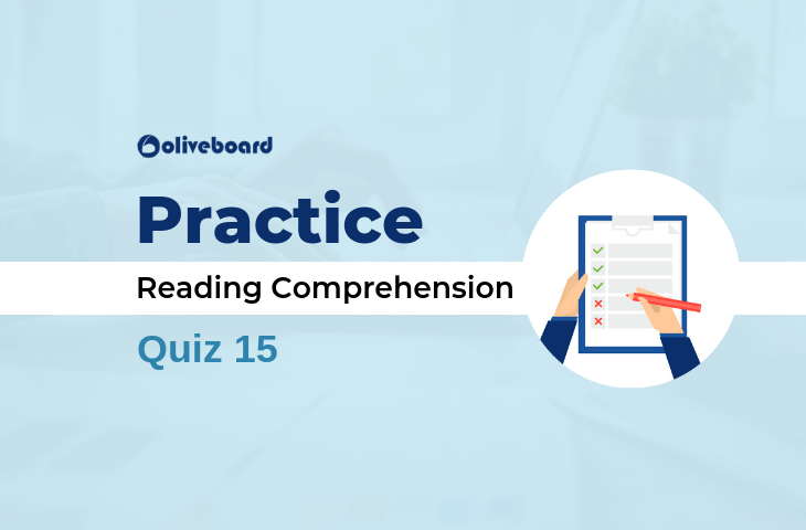 Practice Reading Comprehension Quiz 15