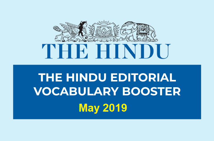Vocabulary Booster May 2019
